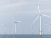 Windmolenpark op zee.