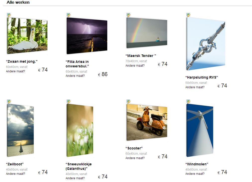 Screenshop Webshop